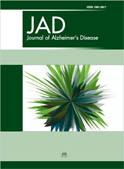 Journal of Alzheimer's Disease Cover