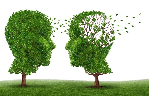 alzheimers disease with two trees